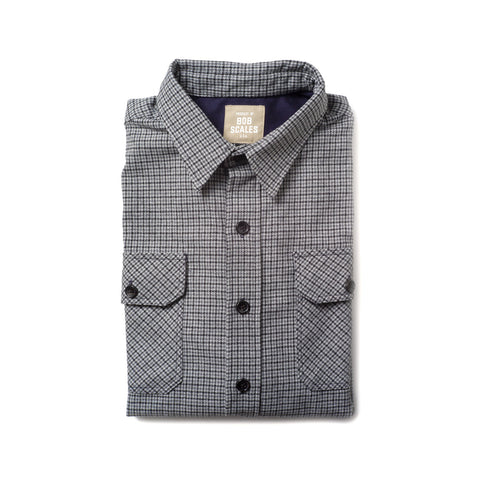 COTTON FLANNEL WORK SHIRT