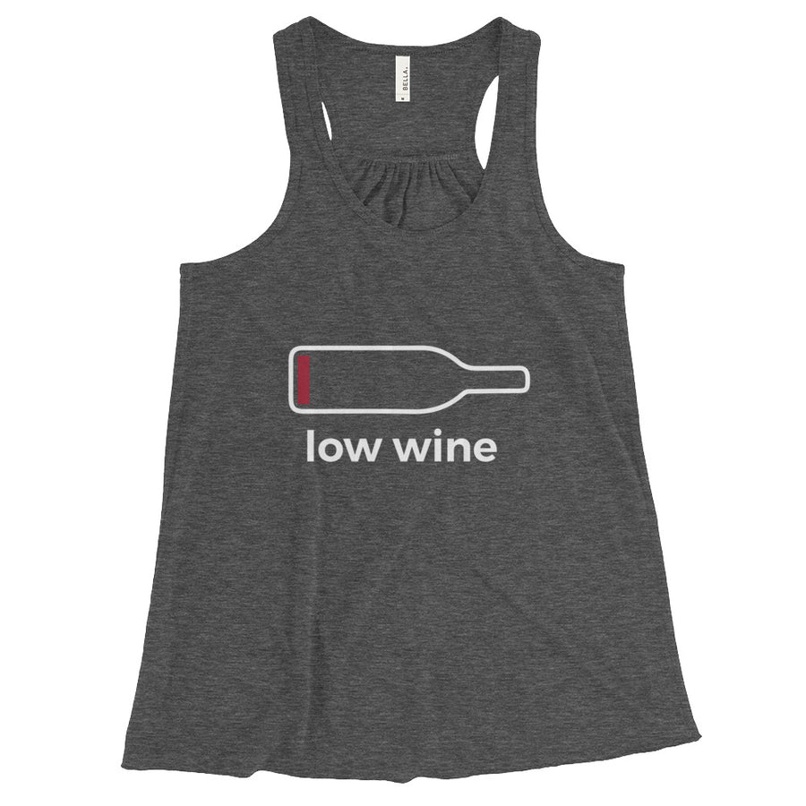 Low Wine Flowy Racerback Tank