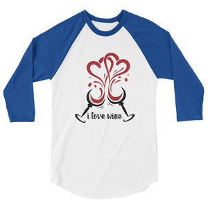 Heart Glasses Raglan TShirt