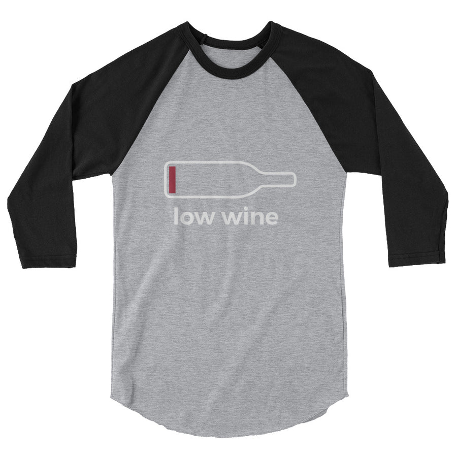 Low Wine Raglan TShirt