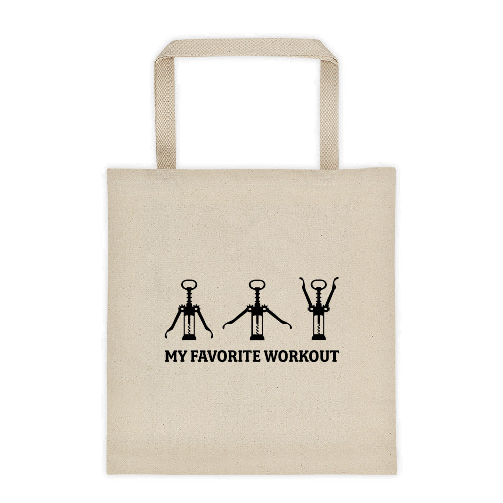 My Favorite Workout Tote bag