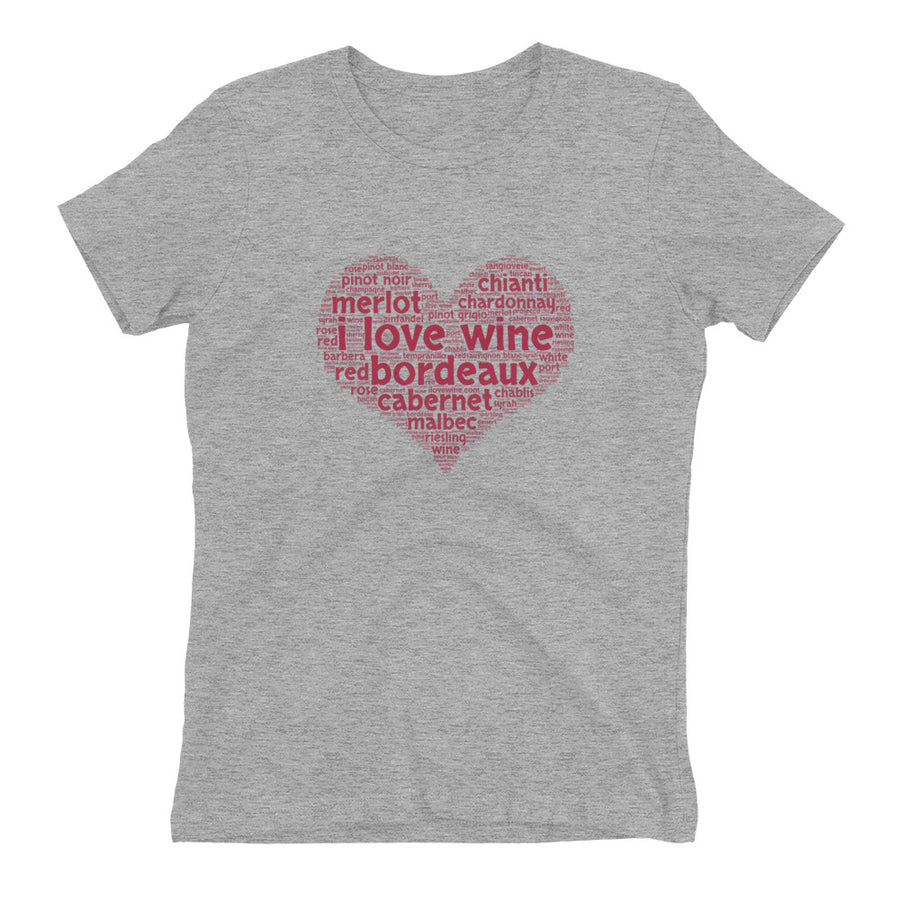 I Love Bordeaux Women's TShirt