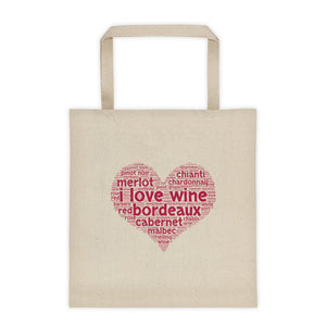 I Love Bordeaux Tote bag