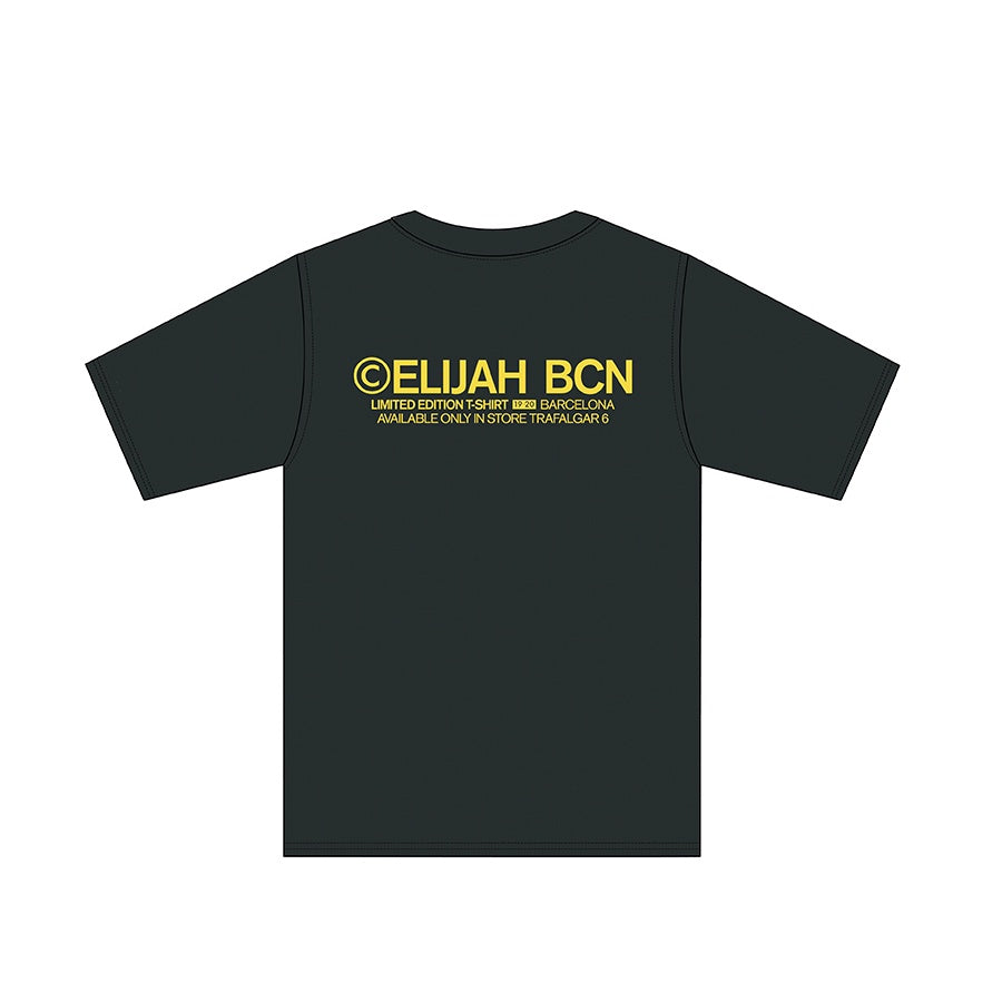 ELIJAH LIMITED EDITION T SHIRT Black/Yellow
