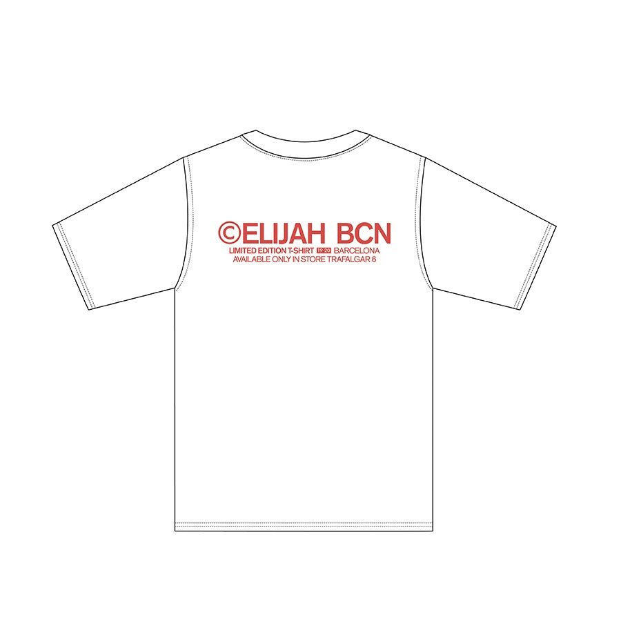 ELIJAH Limited Edition White/Red