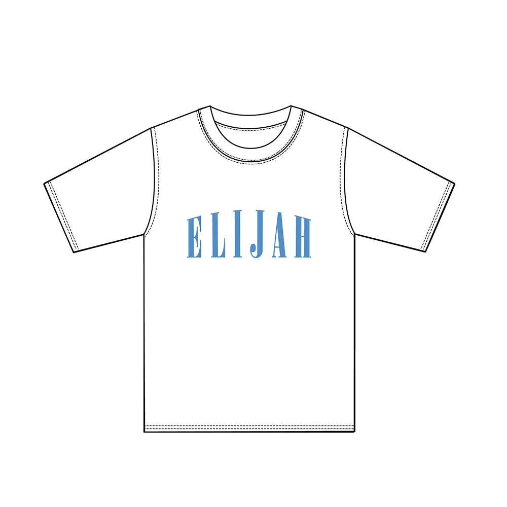 ELIJAH Capital White T-shirt - ELIJAH Tattoo & Barbershop