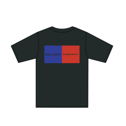 ELIJAH BLUE RED T-SHIRT