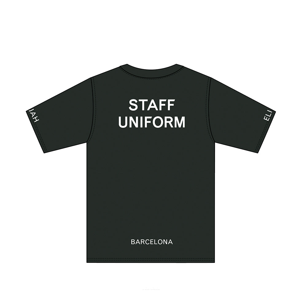 ELIJAH UNIFORM STAFF T-SHIRT - ELIJAH Tattoo & Barbershop