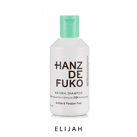 Natural Shampoo 237ml - ELIJAH Tattoo & Barbershop