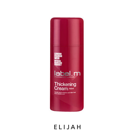 Thickening Cream 100ml - ELIJAH Tattoo & Barbershop
