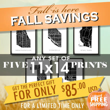 "Load image into Gallery viewer, Fall Sale - Five 11""x14"" Prints for $85 USD"