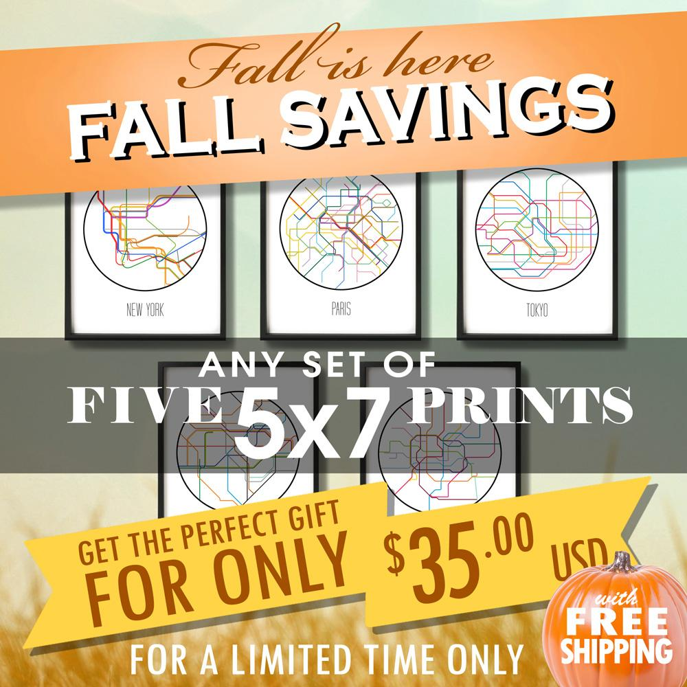 Fall Savings - Five 5