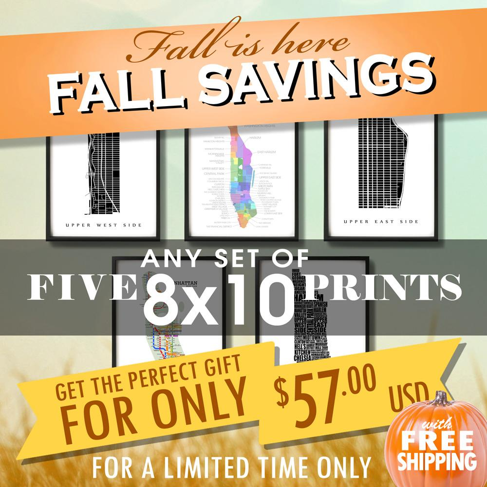 Fall Sale - Five 8
