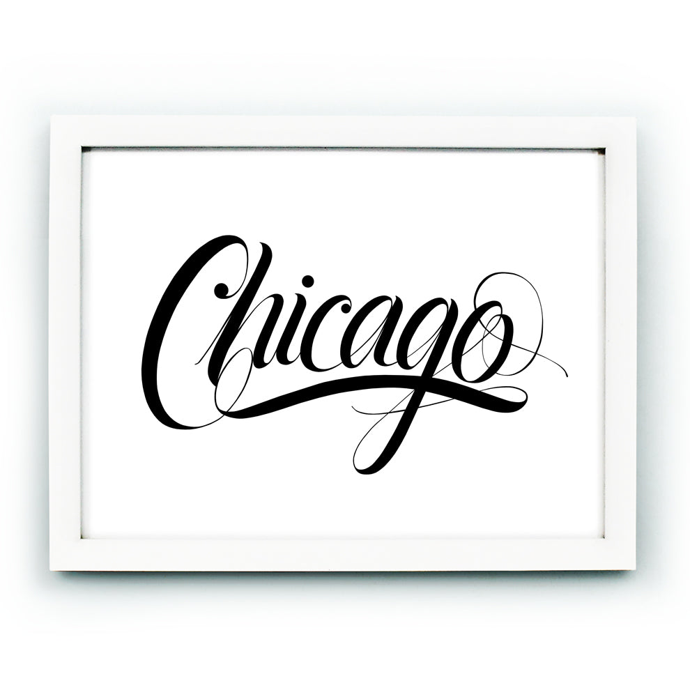Chicago Calligraphy