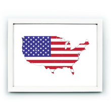 Load image into Gallery viewer, USA Flag Map