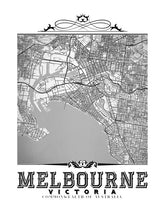 Load image into Gallery viewer, Melbourne Vintage B&W