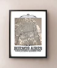 Load image into Gallery viewer, Buenos Aires Vintage Sepia