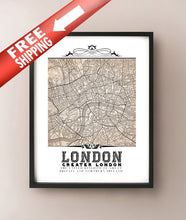 Load image into Gallery viewer, London Vintage Sepia