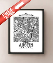 Load image into Gallery viewer, Austin Vintage B&W