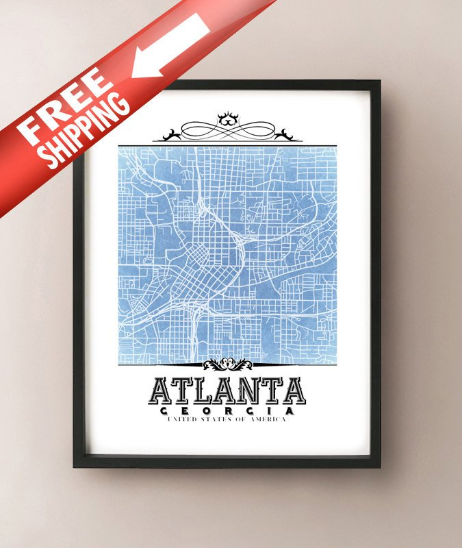 Atlanta Vintage Blueprint