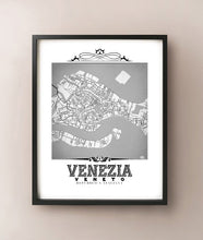 Load image into Gallery viewer, Venezia Vintage B&W