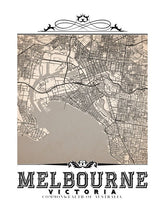 Load image into Gallery viewer, Melbourne Vintage Sepia
