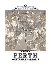 Load image into Gallery viewer, Perth Vintage Sepia