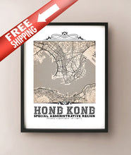 Load image into Gallery viewer, Hong Kong Vintage Sepia