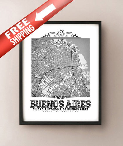 Buenos Aires Vintage B&W