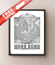 Load image into Gallery viewer, Hong Kong Vintage B&W