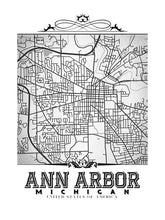 Load image into Gallery viewer, Ann Arbor Vintage B&W
