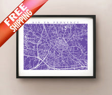 Load image into Gallery viewer, Aix En Provence framed map