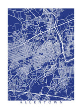 Load image into Gallery viewer, Map of Allentown, Pennsylvania by CartoCreative