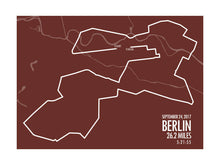 Load image into Gallery viewer, Berlin Marathon 2017