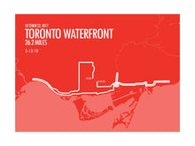 Load image into Gallery viewer, Toronto Waterfront Marathon 2017