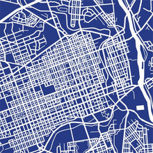 Load image into Gallery viewer, Detail from map of Allentown, Pennsylvania by CartoCreative