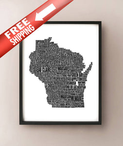 Wisconsin Typography