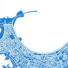 Load image into Gallery viewer, Detail from map of Alexandria, Egypt by CartoCreative