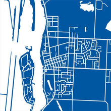 Load image into Gallery viewer, Detail from map of Amherstburg, Ontario by CartoCreative