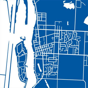 Detail from map of Amherstburg, Ontario by CartoCreative
