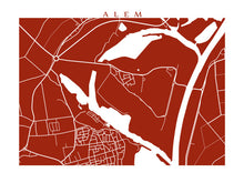 Load image into Gallery viewer, Map of Alem, Netherlands by CartoCreative