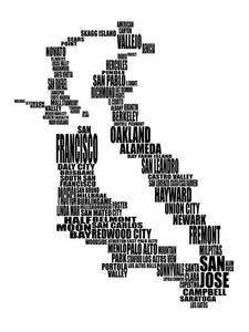 San Francisco Bay Area Typography