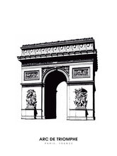 Load image into Gallery viewer, Arc de Triomphe, Paris