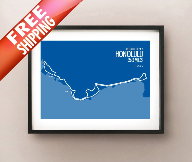 Honolulu Marathon 2017