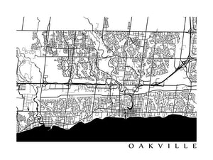 Oakville, ON B&W