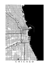 Load image into Gallery viewer, Chicago, IL B&W
