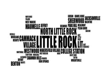 Load image into Gallery viewer, Little Rock Typography