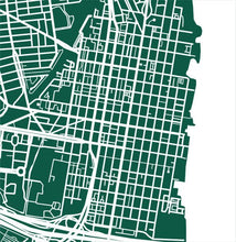 Load image into Gallery viewer, Detail from map of Alexandria, Virginia by CartoCreative