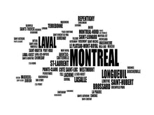 Load image into Gallery viewer, Montreal Typography