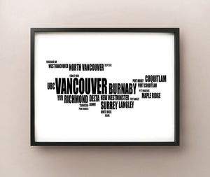 Vancouver Typography